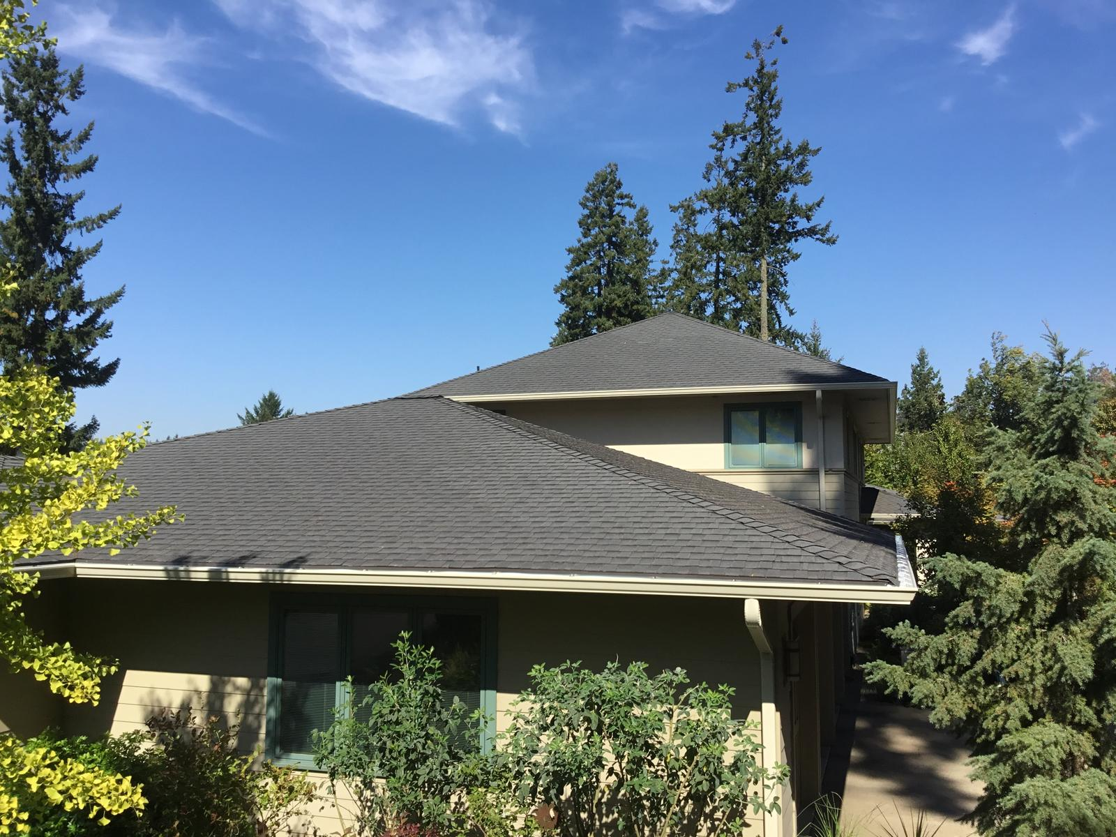 11 Pebble Stone Clay Gutters Albany Oregon Gutter